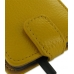 Samsung Galaxy S2 Leather Flip Top Case (Golden Palm Pebble Leather) top quality leather case by PDair