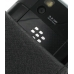 BlackBerry Tour 9630 Leather Flip Case (Black Croc Pattern) handmade leather case by PDair