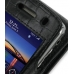 BlackBerry Tour 9630 Leather Flip Case (Black Croc Pattern) top quality leather case by PDair