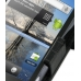 Huawei IDEOS X5 Leather Flip Cover (Black Croc) top quality leather case by PDair