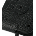 Huawei IDEOS X5 Leather Flip Case (Black Croc Pattern) protective carrying case by PDair