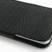 iPhone 6 6s Plus Pouch Case with Belt Clip (Black Croc Pattern) top quality leather case by PDair