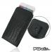 iPhone 6 6s Plus Pouch Case with Belt Clip (Black Croc Pattern) best cellphone case by PDair