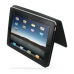 iPad 3G Leather Flip Carry Cover (Black Croc) top quality leather case by PDair