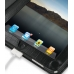 iPad 3G Leather Book Stand Case (Black Croc) Ver.3 protective carrying case by PDair