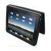 iPad 3G Leather Book Stand Case (Black Croc) Ver.3 top quality leather case by PDair