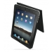 iPad 3G Leather Flip Case (Black Croc Pattern) top quality leather case by PDair