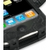 iPhone 3G 3Gs Leather Flip Cover (Black Croc) top quality leather case by PDair