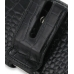 iPhone 4 4s Leather Holster Case (Black Croc Pattern) protective carrying case by PDair
