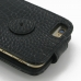 iPhone 6 6s Leather Flip Top Case (Black Croc Pattern) handmade leather case by PDair