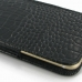 iPhone 6 6s Leather Sleeve Pouch Case (Black Croc Pattern) protective carrying case by PDair