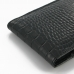 LG G3 Leather Sleeve Pouch Case (Black Croc Pattern) top quality leather case by PDair
