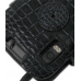 Motorola Atrix 4G Leather Flip Cover (Black Croc) protective carrying case by PDair