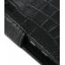 Motorola Atrix 4G Leather Flip Cover (Black Croc) handmade leather case by PDair