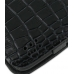 Motorola Atrix 4G Leather Flip Cover (Black Croc) genuine leather case by PDair