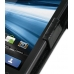 Motorola Atrix 4G Leather Flip Cover (Black Croc) top quality leather case by PDair