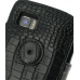 Motorola Atrix 2 Leather Flip Cover (Black Croc) protective carrying case by PDair