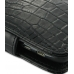 Motorola Atrix 2 Leather Flip Cover (Black Croc) genuine leather case by PDair