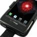 Motorola Droid Razr Maxx Leather Flip Case (Black Croc Pattern) genuine leather case by PDair