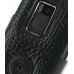 Nokia N900 Leather Flip Cover (Black Croc) protective carrying case by PDair