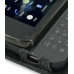 Nokia N900 Leather Flip Cover (Black Croc) top quality leather case by PDair