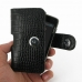 Nokia N900 Leather Holster Case (Black Croc Pattern) top quality leather case by PDair