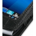 Sony Ericsson Vivaz / U5i Leather Flip Case (Black Croc Pattern) top quality leather case by PDair