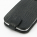 Samsung Galaxy S3 Leather Flip Top Case (Black Croc Pattern) handmade leather case by PDair