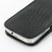 Samsung Galaxy S3 Leather Sleeve Pouch Case (Black Croc Pattern) protective carrying case by PDair