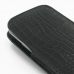 Samsung Galaxy S3 Leather Sleeve Pouch Case (Black Croc Pattern) handmade leather case by PDair