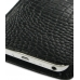 Samsung Galaxy S WiFi 5.0 Pouch Case with Belt Clip (Black Croc) handmade leather case by PDair