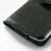 Samsung Galaxy Mega 6.3 Leather Holster Case (Black Croc Pattern) handmade leather case by PDair