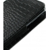Samsung Galaxy Note Pouch Case with Belt Clip (Black Croc Pattern) top quality leather case by PDair