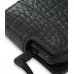 Samsung i8000 Omnia II Leather Flip Case (Black Croc Pattern) top quality leather case by PDair
