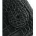 Samsung S8000 Jet Leather Flip Case (Black Croc Pattern) protective carrying case by PDair