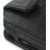 Samsung S8000 Jet Leather Flip Case (Black Croc Pattern) handmade leather case by PDair