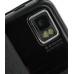 Samsung S8000 Jet Leather Flip Case (Black Croc Pattern) genuine leather case by PDair