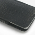 Samsung Galaxy Note 3 Pouch Case with Belt Clip (Black Croc Pattern) protective carrying case by PDair