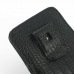 Samsung Galaxy Note 3 Pouch Case with Belt Clip (Black Croc Pattern) top quality leather case by PDair