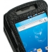 Samsung Captivate Galaxy S Leather Flip Cover (Black Croc) genuine leather case by PDair