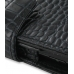 Samsung Google Nexus S Leather Flip Cover (Black Croc) top quality leather case by PDair