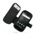 Samsung Google Nexus S Leather Flip Cover (Black Croc) offers worldwide free shipping by PDair