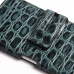 iPhone 6 6s Plus Leather Holster Case (Green Croc Pattern) genuine leather case by PDair