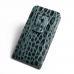 iPhone 6 6s Plus Pouch Case with Belt Clip (Green Croc Pattern) top quality leather case by PDair