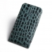 iPhone 6 6s Plus Pouch Case with Belt Clip (Green Croc Pattern) custom degsined carrying case by PDair