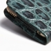 iPhone 6 6s Leather Holster Case (Green Croc Pattern) protective carrying case by PDair
