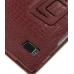 Acer Iconia Tab A500 Leather Flip Carry Cover (Red Croc) protective carrying case by PDair