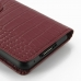 Asus PadFone mini 4.3 Leather Flip Carry Cover (Red Croc) protective carrying case by PDair