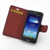 Asus PadFone mini 4.3 Leather Flip Carry Cover (Red Croc) top quality leather case by PDair