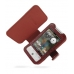 HTC Hero Leather Flip Cover (Red Croc) offers worldwide free shipping by PDair